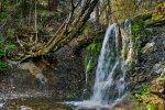 wodospad w Bieszczadach